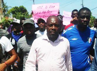 Haïti-Budget: Mouvement de protestation à Miragôane contre le Budget 2017-2018
