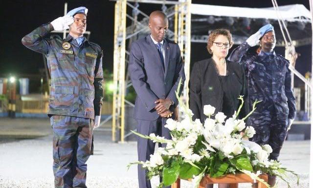 Le mandat de la MINUSTAH arrive à terme, la MINUJUSTH débarque