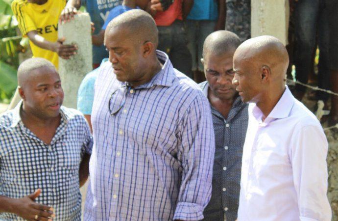 Le Président de la République, Jovenel Moïse a visité  la centrale hydroélectrique de Délugé Lanzac à Montrouis