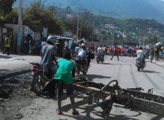 Haïti-Tension: la route de Martissant bloquée