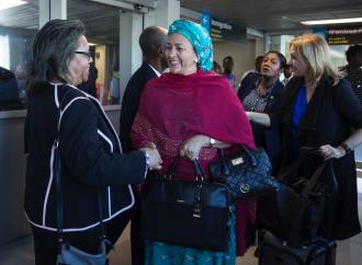 Haïti-Coopération : Deux fonctionnaires de l'ONU dans nos murs