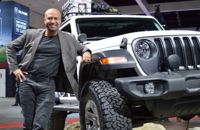 Le design du nouveau Jeep Wrangler 2018 est réalisé par un haïtien