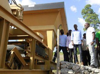 Jovenel Moïse supervise les travaux du département Nord-Ouest