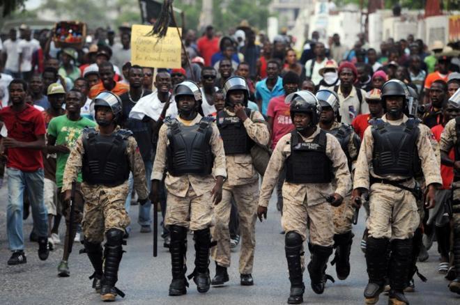 Affrontements entre étudiants et des Agents du CIMO