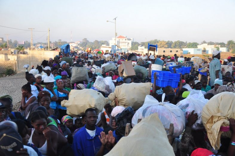 Des milliers d'Haïtiens victimes de rapatriement forcé au niveau de la frontière