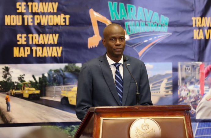 Petrocaribe :  »il n'y aura pas de persécution politique sous mon administration », réitère Jovenel Moïse
