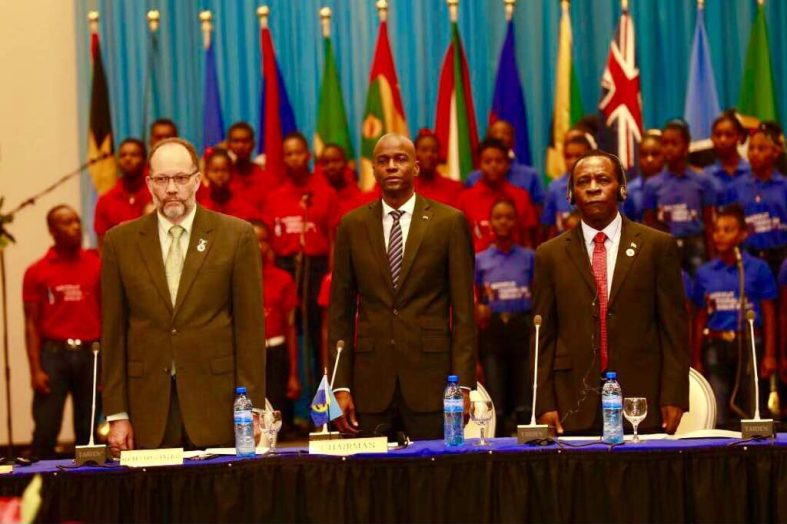 Renforcer la position d'Haïti au sein de la CARICOM, Jovenel Moïse y croit