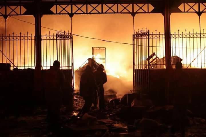 Enquête du BSESP: l»incendie du Marché Hyppolite serait d'origine criminelle