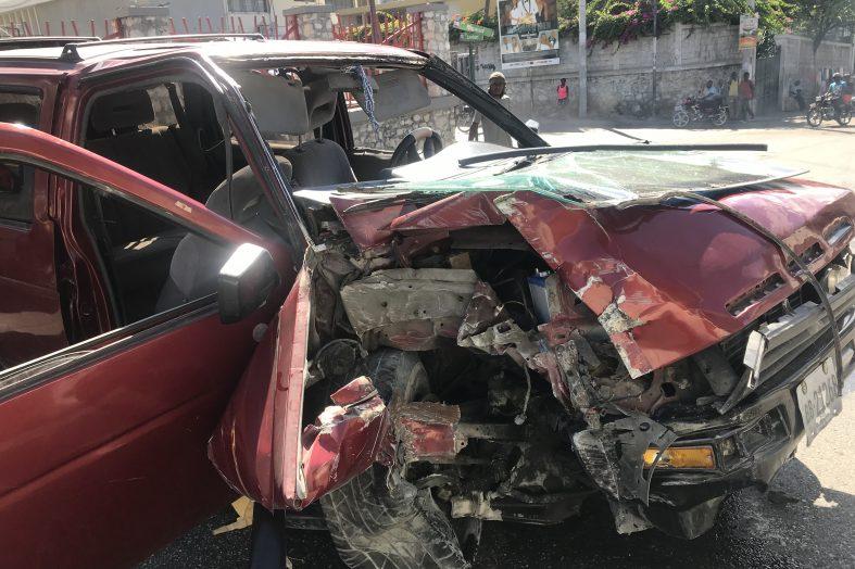 Accident à Pétion-Ville : 3 victimes enregistrées