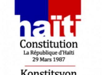Amendement constitutionnel : Vice-présidence, monocamérisme, les Protestants proposent