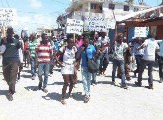 Haïti-Politique: manifestation anti-pouvoir, l'opposition multiplie les échecs