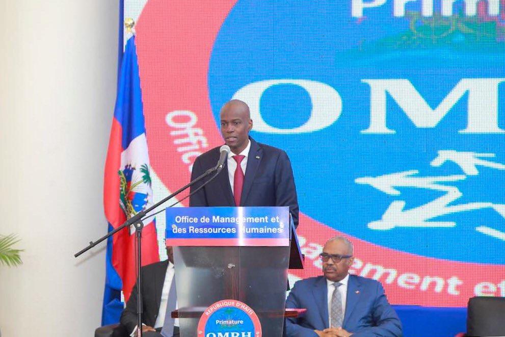»La réforme de l'État, condition sine qua non du renouveau du pays», dixit Jovenel Moïse