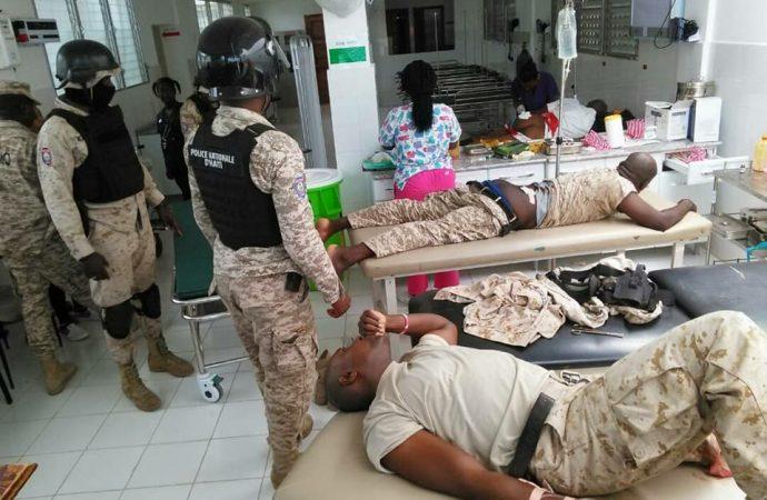 Affrontement entre policiers et civils à Miragoâne