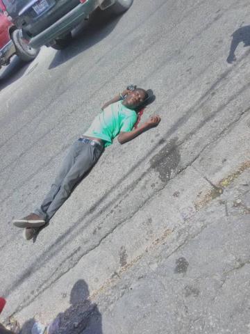 Manifestation en panne recette, un Mort enregistré, Moïse Jean Charles accuse la Police