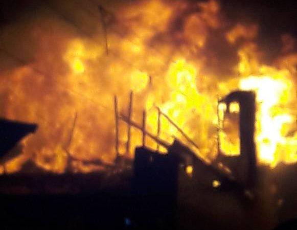 3 maisons ravagées par un incendie aux Gonaïves