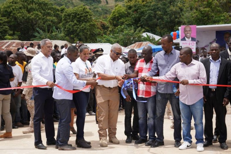 Jack Guy Lanfontant a inauguré un débarcadère à l'île de la Tortue