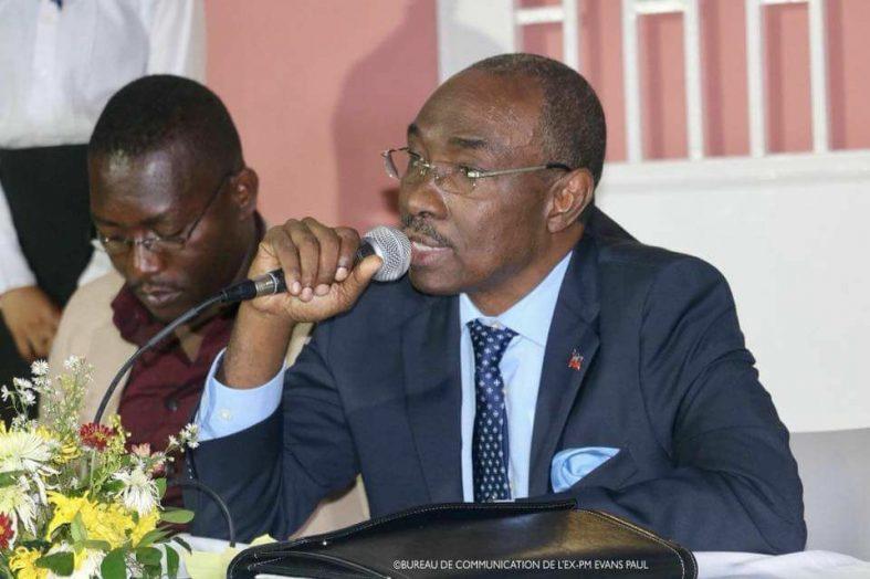 États généraux: Evans Paul démissionne du Comité