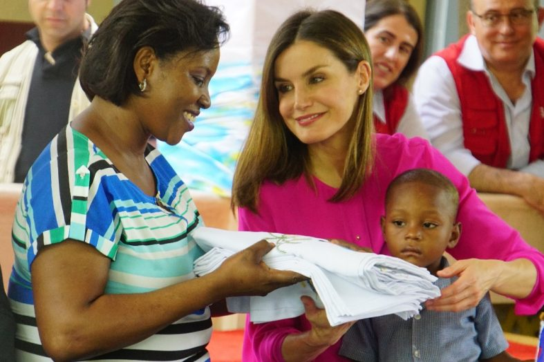 Haït Coopération: la Reine d'Espagne poursuit sa visite