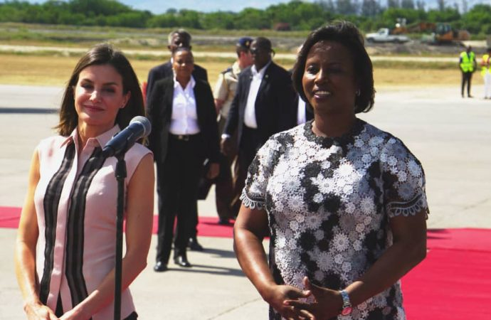 Haïti-Coopération: la reine d'Espagne a atterri en Haïti !