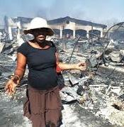 Des victimes de l'incendie du marché Hyppolite appellent encore à l'aide