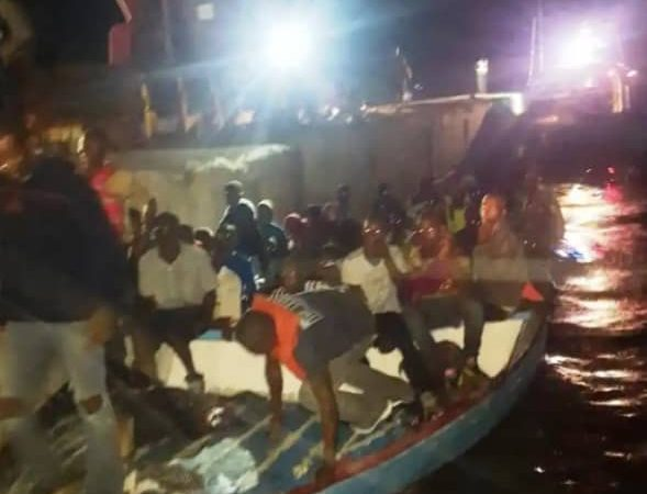 102 migrants haïtiens interceptés au large de Providenciales