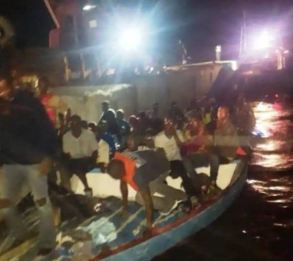 102 migrants haïtiens interceptés au large de Providenciales
