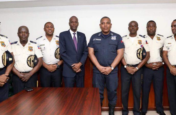 Jovenel Moïse promet de renforcer l'institution policière
