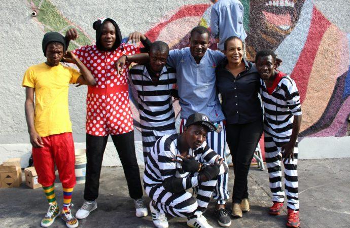 Initiative spontanée d'artistes-peintres, pour donner l'espoir
