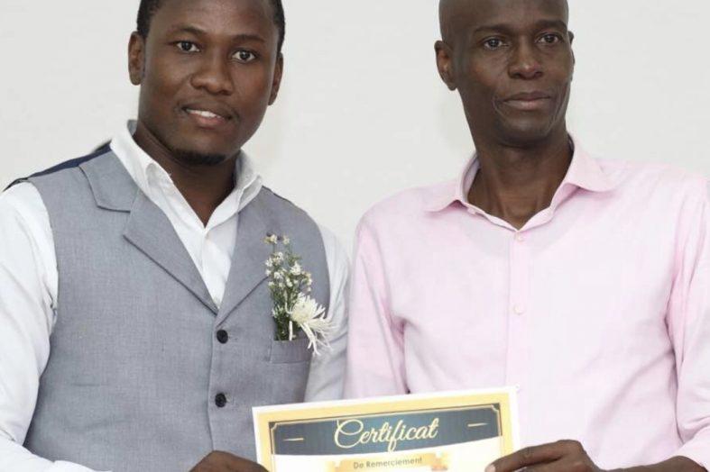 Une vingtaine de jeunes entrepreneurs trouvent le support du Président Jovenel Moïse