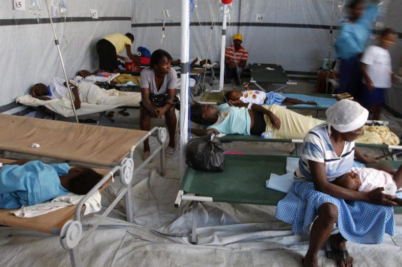 Haïti-Choléra: 4 décès, 175 cas d'infection enregistrés à Cornillon/Grand-Bois en moins de 3 semaines