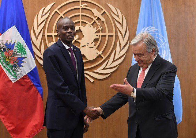 Éradication du choléra d'ici 2022, Jovenel Moïse réclame 390 millions de dollars à l'ONU