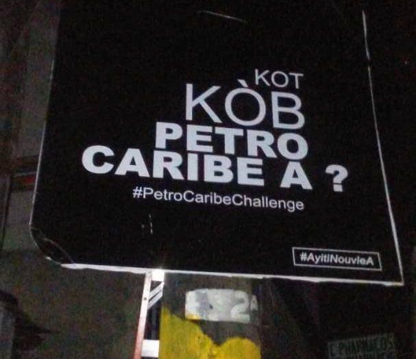 PetroCaribechallenge, un mouvement orchestré à des fins électoralistes