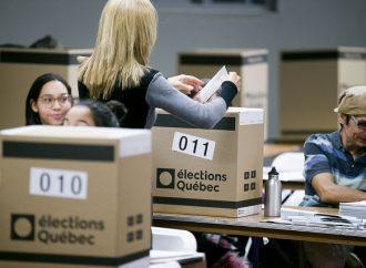 Les Québécois se rendent aux urnes