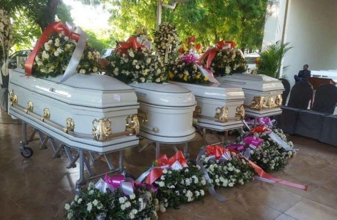 Funérailles des 4 agents douaniers: parents et amis réunis dans la douleur