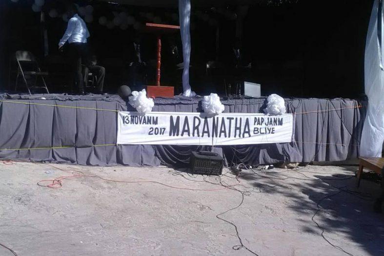 """Massacre à grand ravine : un an après """"Maranatha pa janm bliye"""""""