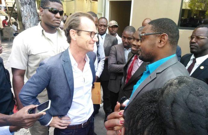 Maarten Boute a expliqué son tweet au chef du parquet de Port-au-Prince