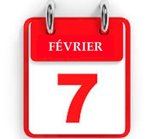 7 février : une date riche en événements