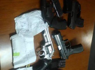 Bilan: 10 arrestations, 4 armes à feu saisis par la PNH