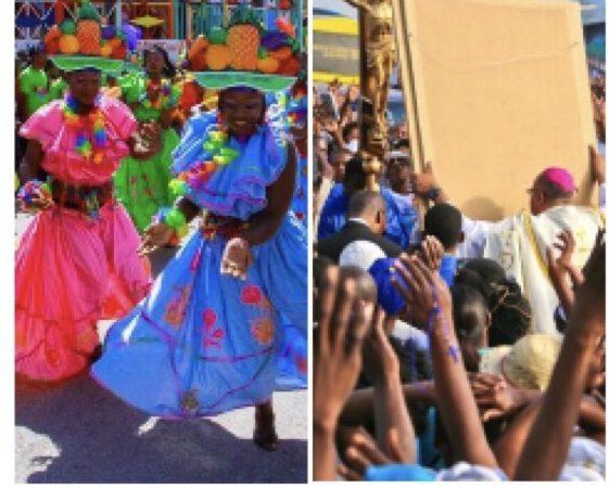 Annulation du carnaval, place à la prière  au Champ de mars