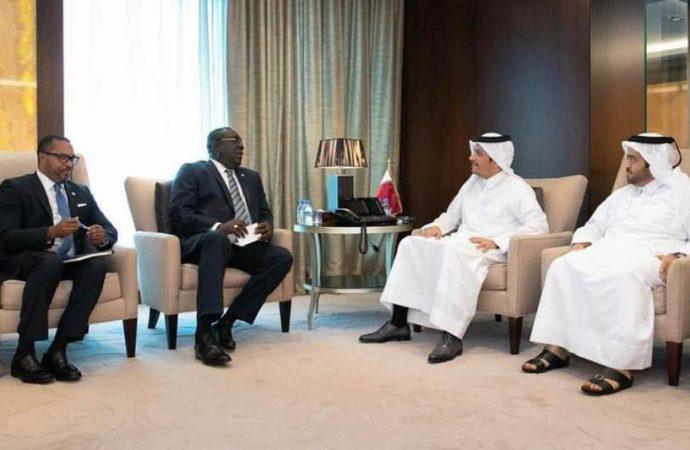 Haïti-Diplomatie Boccit Edmond en voyage officiel au Qatar