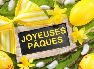À nos lecteurs, joyeuses fêtes de Pâques !
