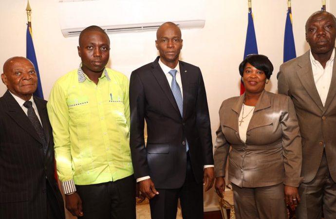 Dialogue inter-haïtien: Jovenel Moïse a rencontré d'autres acteurs politiques