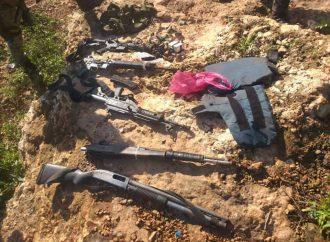 Opération à Carrefour-feuilles: 5 armes à feu saisies dont un galil