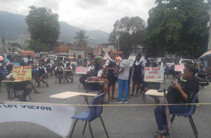Nouvelle tournure dans la mobilisation des étudiants de l'Ecole Nationale d'Infirmieres de Port-au-Prince