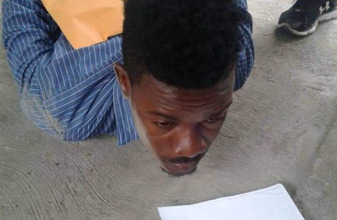 Arrestation d'un escroc se faisant passer pour le journaliste Roberson Alphonse