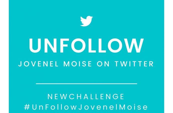 Nouveau challenge : Jovenel Moïse perd ses abonnés sur Twitter
