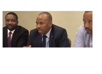 La signature du plan de gouvernance de l'opposition renvoyée
