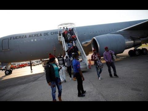 Chili-Déportation massive: les Haïtiens bénéficient d'un sursis