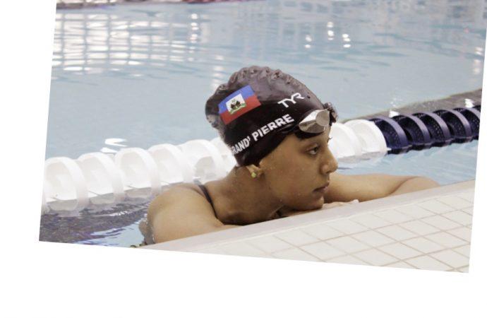 Jeux olympiques : Naomy Grand-Pierre fait des yeux doux à la diaspora