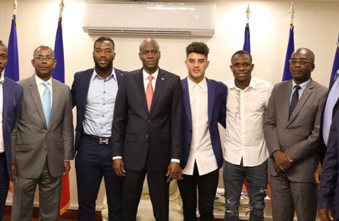 Haïti-Sport: Jovenel Moïse a rencontré des Grenadiers